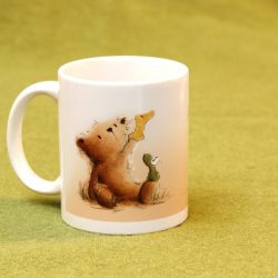 Kaffeetasse mit Teddymotiv