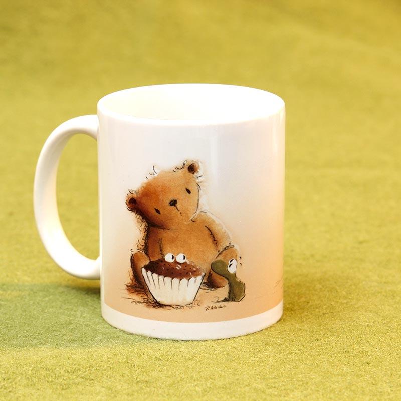 Kaffeebecher mit Teddybären